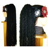 Black Wavy Dreadlocks Hair Piece