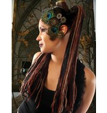 Fine Steampunk Stripes Dread Fall