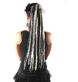 Black White Goth Dread Fall