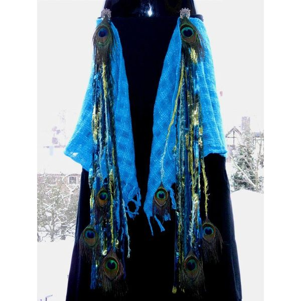 Mermaid Peacock tassels