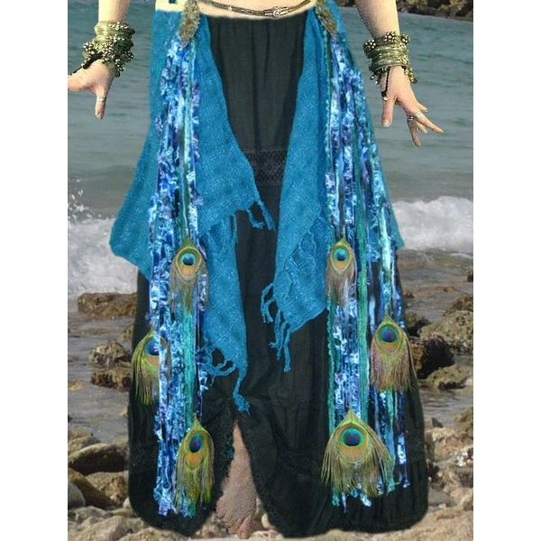 Blue Mermaid (Peacock) tassel