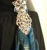 Goth Mermaid hip & hair tassel clip/ hair fall