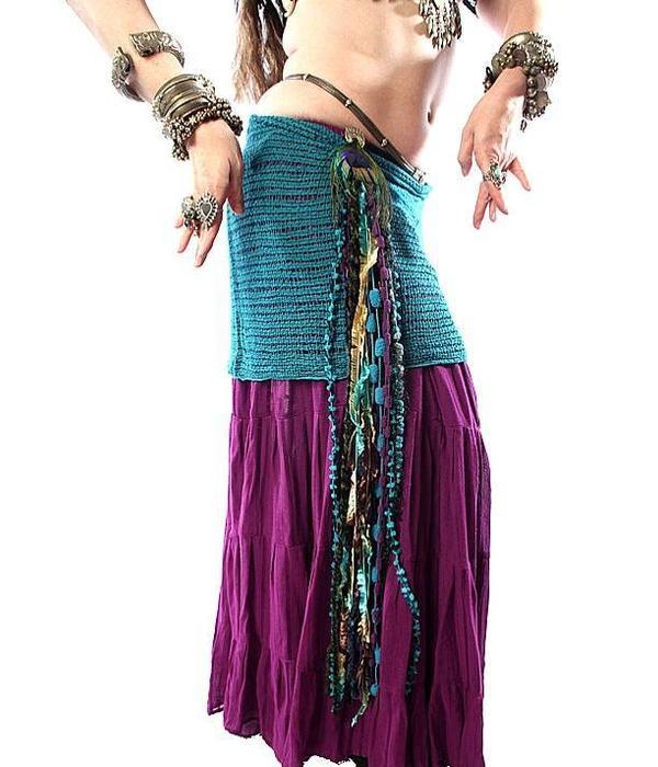 Paradise belly dance yarn fall