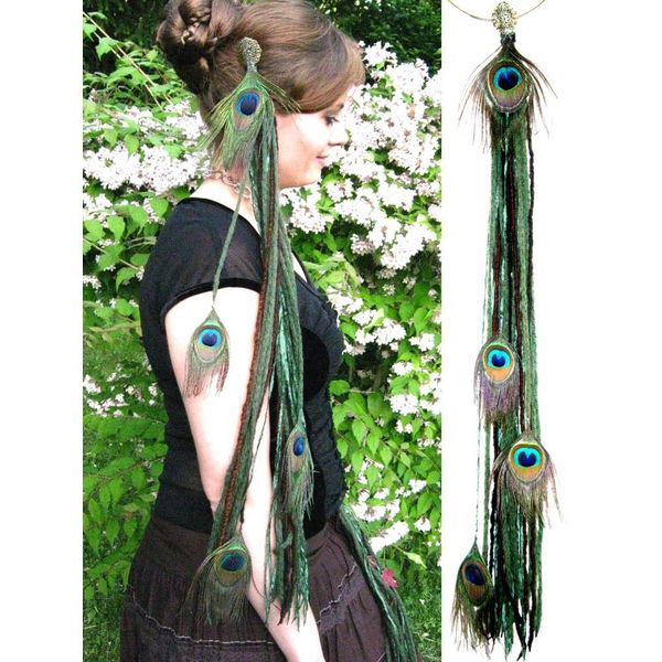 Forest Elf Peacock belt clip