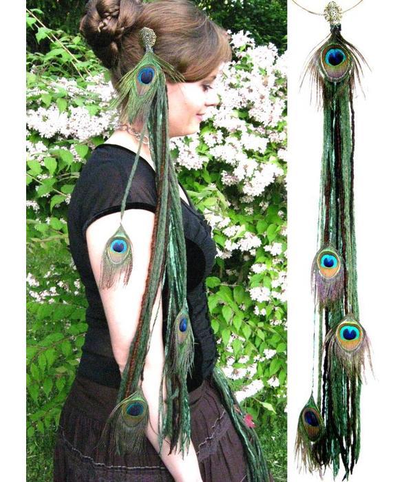 Forest Elf (Peacock) belt clip