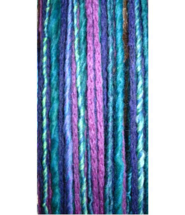 Purple Paradise belly dance hip & hair tassel