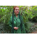 Emerald Fairy larp & belly dance yarn fall