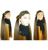 2 Hair Falls size S, crimped