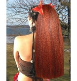 Hair Fall Size L, crimped hair