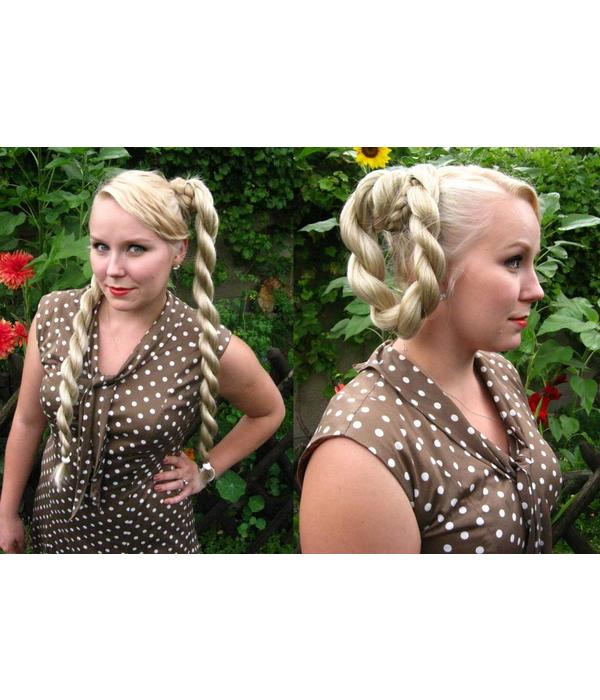 2 Hair Falls Size S Plus, waves