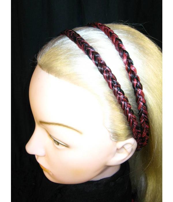 Double Braid Headband, thin