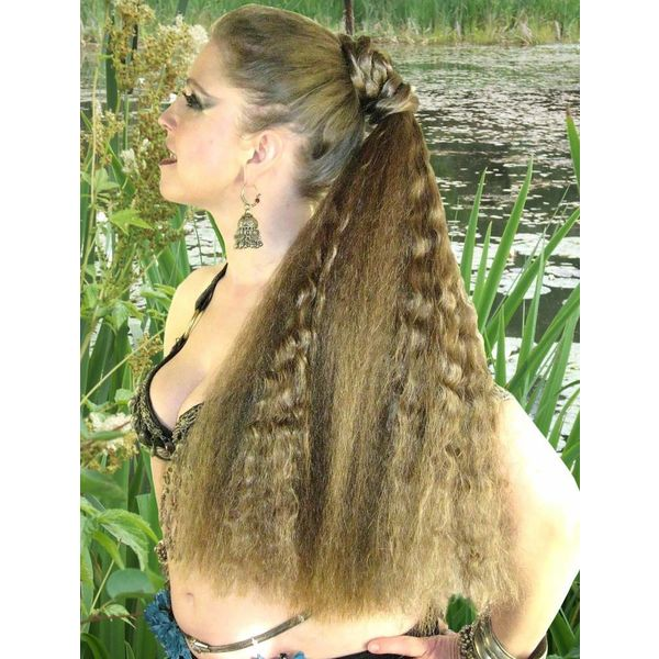 Hair Fall L wild style