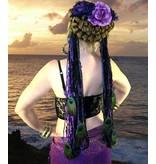 Purple Passion (Peacock) yarn falls
