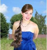 Braid M size, wavy hair