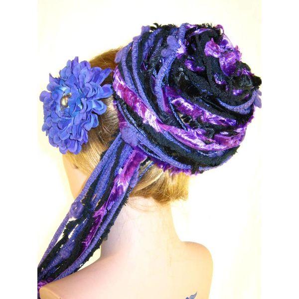 Purple Passion Yarn Fall