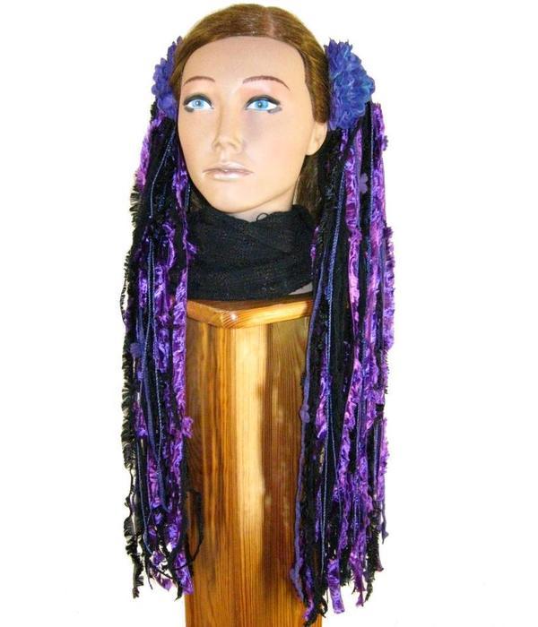 Purple Passion Goth Yarn Fall