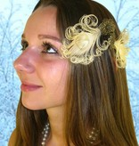 Peacock Feather Fascinator - fair feathers