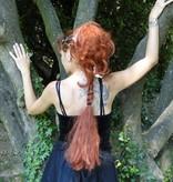 Braid L size & wavy hair falls