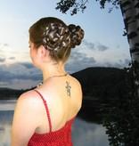 Braids/ Plaits 2 x M size for pigtails, wavy hair