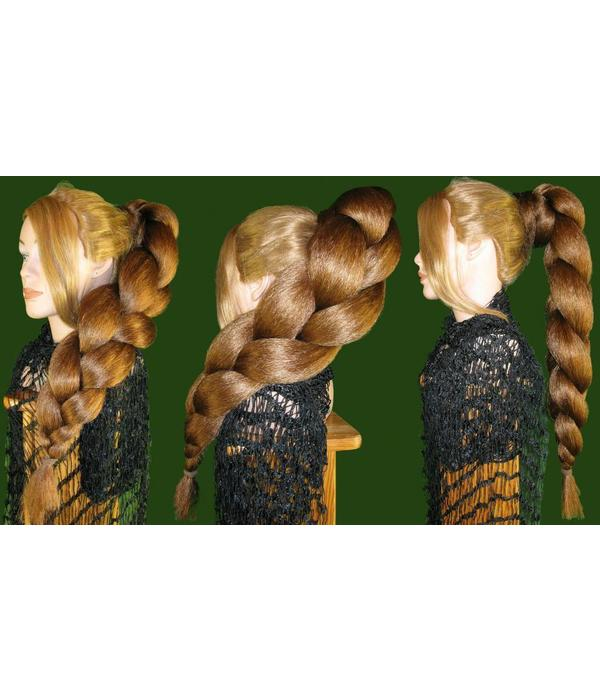 Supersize Braid/ Plait, crimped hair