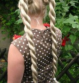 Twist Braids, wavy hair, size S