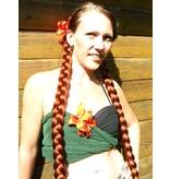 Braids/ Plaits 2x S extra size, crimped hair