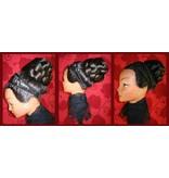 Braid/ Plait L extra size, crimped hair
