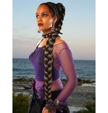 Braid/ Plait L extra size, crimped hair