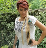 Gypsy Gold Peacock belt & hair accessory