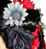 Red Passion Nostalgia Hair Flower Set