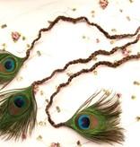 Triple Peacock Hair