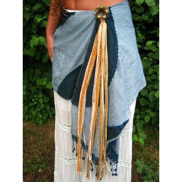 Gypsy Gold belt tassel