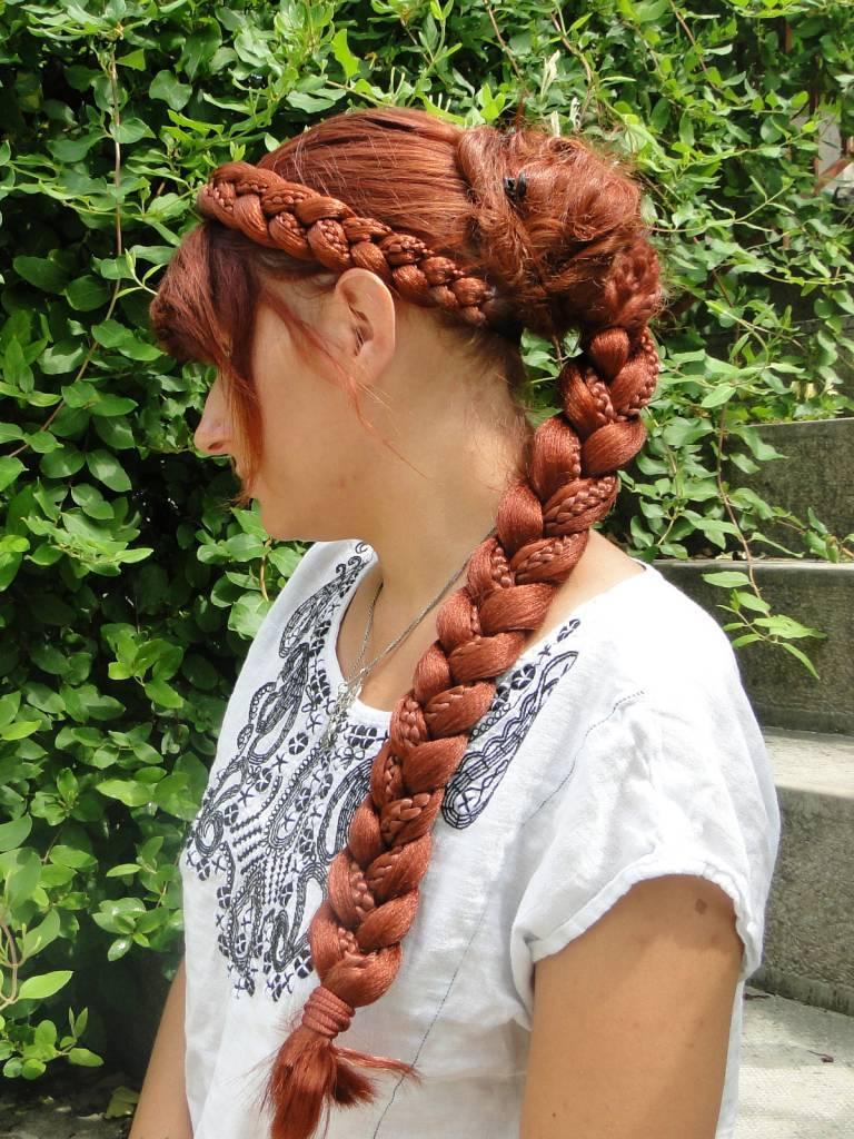 Rapunzel Braid Extra Fine Renaissance Hair Piece All Colors Magic Tribal Hair Magic Tribal Hair