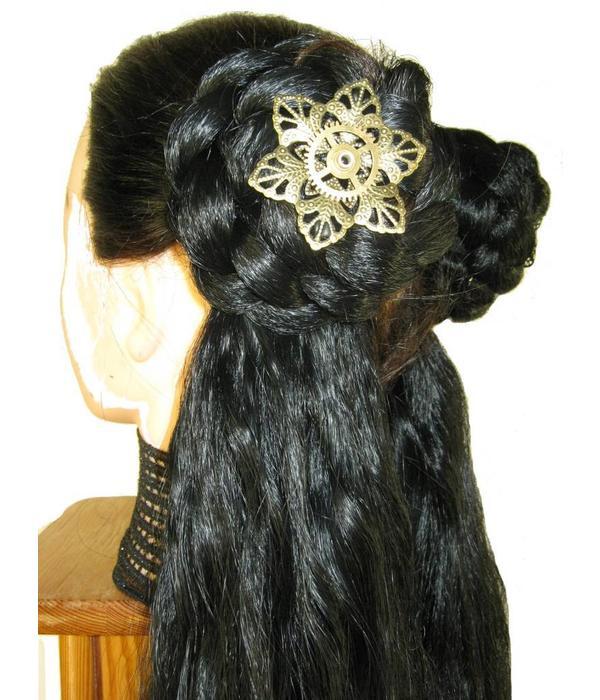 Mechanical Steampunk Hair Flower I