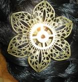 Mechanical Steampunk Hair Flower II