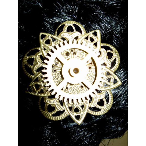 Mechanical Steampunk Flower III