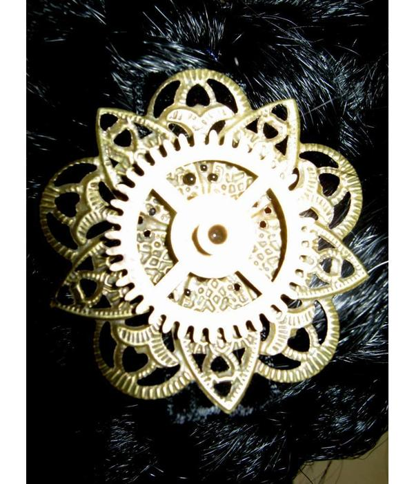 Mechanical Steampunk Hair Flower III