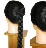 Braided Hair Buns, voluminous hair
