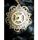 3 Mechanical Steampunk Copper Ornaments