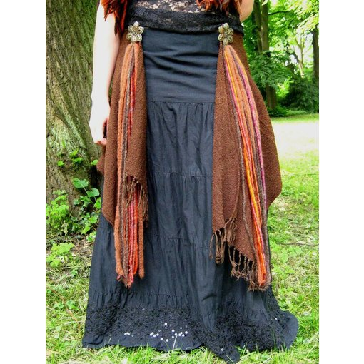 Gypsy Flower dreads tassel