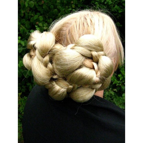 Braided Elf Fantasy Updo