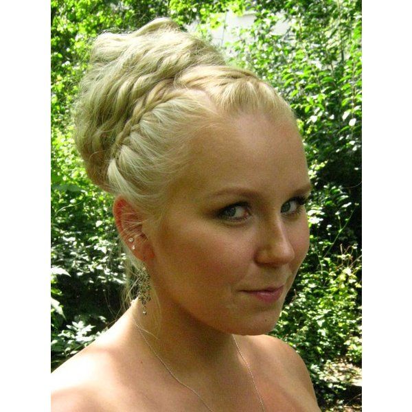 Wedding Hair Bun, Updo