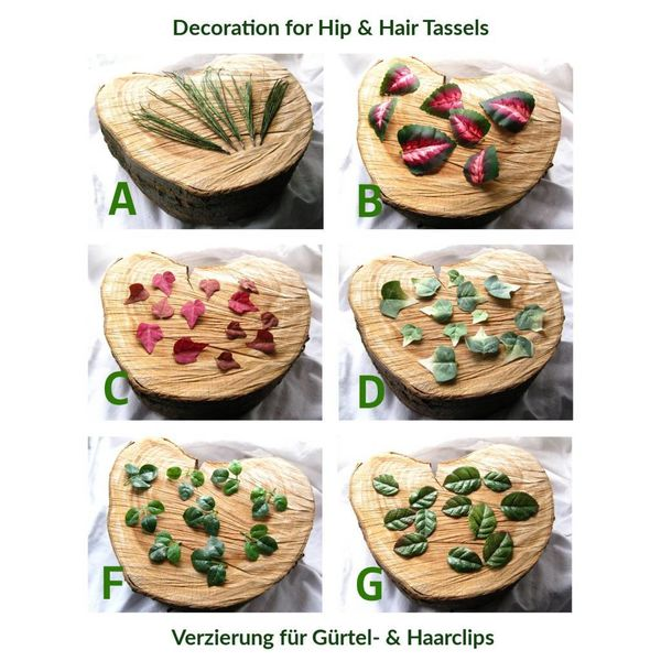 Leaves Decoration for Tassels