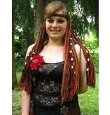 "Tribal Belly Dance ""Cowry Dream"" Hair Piece"