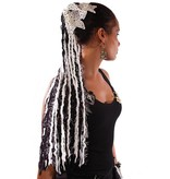 Morticia Gothic yarn hair fall