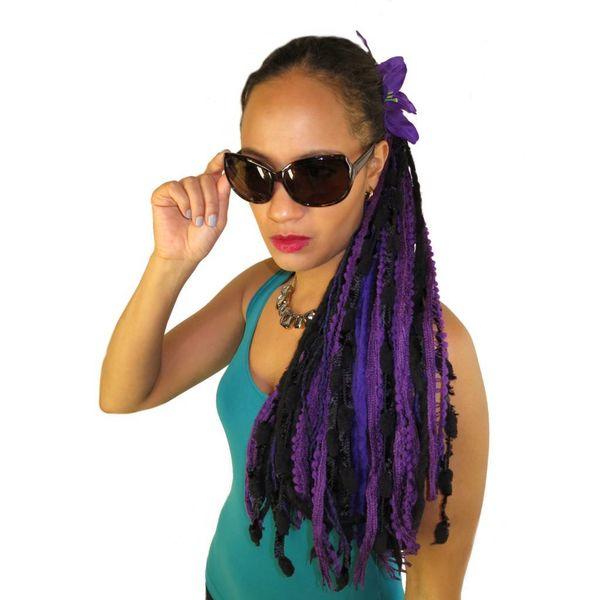 Purple Dream Yarn Fall