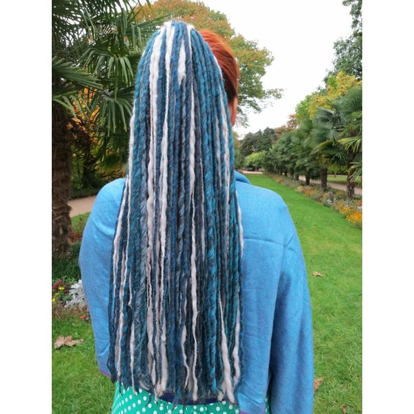 Silver Mermaid Dreads