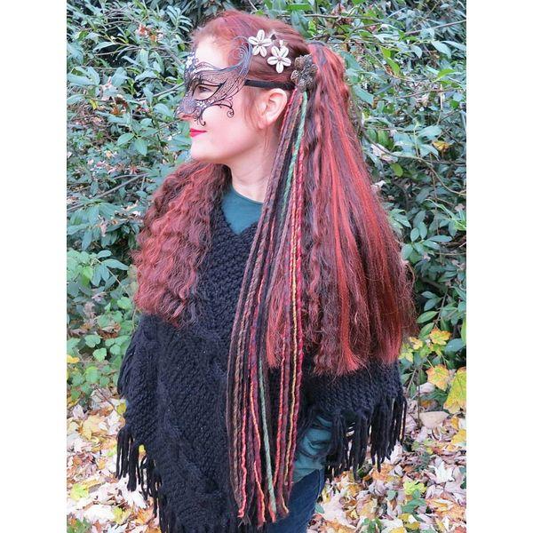 Dark Gypsy Spirit Dreads Tassel