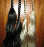 Clip-In Braids, wavy ends