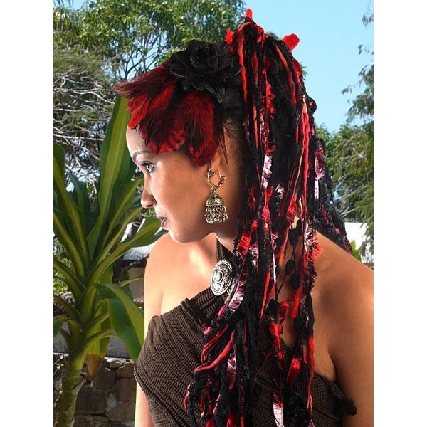 Red Passion Yarn Falls